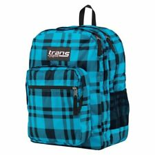 Jansport Backpack - Blue Plaid - New With Tags