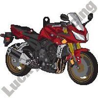 Yamaha FZ-1 Fazer 1000 rubber key ring motor bike cycle gift keyring chain FZ1