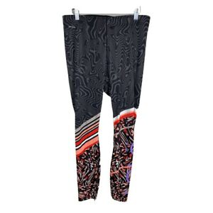 Lole Women's Size XL High Waist Mixed Print Leggings LSW2713