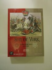 GMT Games Sun of York The War of the Roses Game - New in Shrink