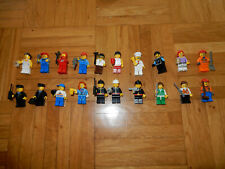 Lego Figuren 20 St. Feuerwehr Bauarbeiter Männchen Koch Astronaut