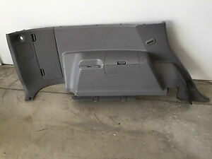 2005 Toyota 4runner limited Interior Rear Left Quarter Panel Trim Cover Used