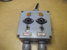 Scepter Wet Location Switch Box Assembly w/ Switches and Lights *FREE SHIPPING*