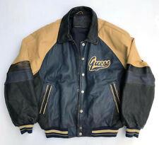 VINTAGE 1990's GUESS LEATHER JACKET COAT Excellent Condition XL