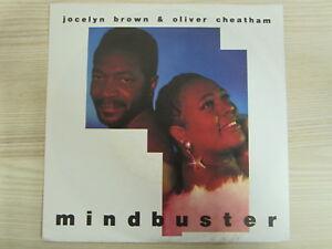 Single /  Jocelyn Brown & Oliver Cheatham – Mindbuster / 1991 /  Funk / Soul /