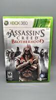 Assassin's Creed: Brotherhood (Microsoft Xbox 360) *Complete*