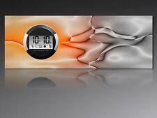 6118 Dixtime Digital Designer Wanduhr, Moderne Wohnraumuhr 35x100cm