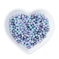 1Bag 4mm Mix Pearlized Glass Pearl Beads For DIY Jewelry Making about 400pcs/bag