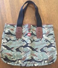 Quiksilver Porter RARE Japan Tokyo Bag - Leather - Waves - LIMITED EDITION