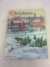 Rare vintage/Antique myerstown, Pa Christmas Carol booklet Texico Leffler Goodri