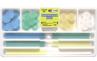 Dental Composite Finishing Polishing Discs Shofu Super-snap + strips TOR VM