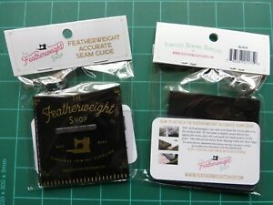 SINGER Featherweight 221/222  ACCURATE SEAM GUIDE BLACK