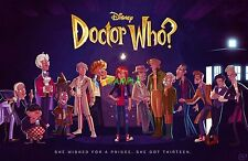 Doctor Who Disney Edible Birthday Cake Image Topper Frosting Icing 1/4 Sheet
