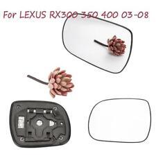 Left Side Rearview Door Wing Heated Mirror Glass For 2003-08 LEXUS RX300 350 400