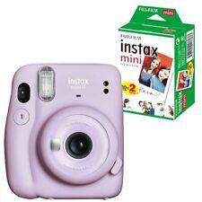 ??Fujifilm Instax Mini 11 Sofortbildkamera Polaroid Lilac Purple mit 20 Bilder