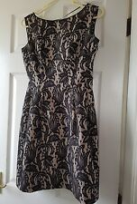 Zara lace fit and flare dress as seen on Kate Middleton