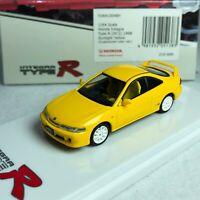 1/64 Hobby Japan Honda Integra Type-R DC2 1998 Sunlight Yellow HJ641004BY