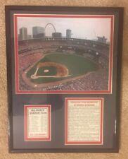 St. Louis Cardinals Baseball Framed Picture BUSCH STADIUM Greatest Fan Moments