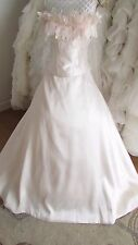 Romantica light pink high quality wedding dress uk 16/18