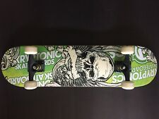 Skateboard Kryptonic Funboard Fun Tomia Neuwertig Skull Design