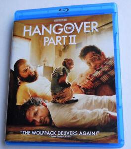 The Hangover Part II 2 (Blu-ray Disc, 2013) Bradley Cooper Zach Galifianakis