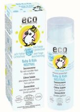 Eco Cosmetics 50 Ml Baby Sonnencreme Lsf50 neutral
