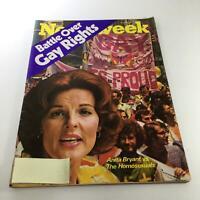 Newsweek Magazine: Jun 6 1977 - Anita Bryant VS The Homosexuals