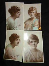 Embossed Posted Collectable Actress Postcards