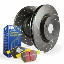 "EBC Brakes S5KF1499 S5 Front Brake GD Rotors and Yellowstuff Pad Kit - 14.0"" Dia"