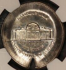 U.S. Jefferson Nickel Reverse Capped Die ERROR Coin - NGC MS 64