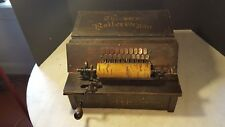 Antique Gem Roller Organ Pinned Cob Reed Player 1891
