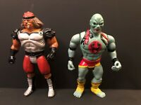 Thundercats Mumm-Ra & Grune The Destroyer Vintage LJN 1985 T Wolf Telepix