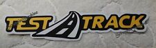 DISNEY TEST TRACK Die Cut Title Scrapbook Paper Piece - SSFFDeb