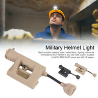 Durable Outdoor Hunting Military Tactics Night LED Mpls Charging Helmet Light