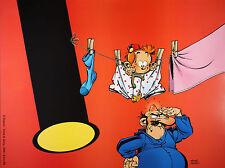 Affiche, Janry, Le Petit Spirou : M. Megot   60 x 80 cm