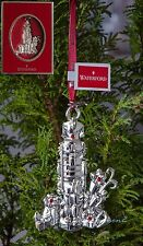 Waterford Ornamenti D'Argento 2013 Schiaccianoci Christmas tree bauble