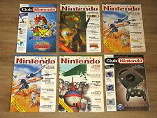 Nintendo Club Magazin / Zeitschrift / Heft Ausgabe 1,1,2/99 5/00 5/01 1/02
