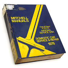 Mitchell National Service Data 1976 Domestic Car Service & Repair