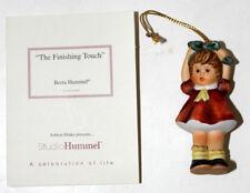 "Goebel Berta Christmas Ornament ""The Finishing Touch"""
