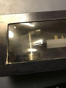 "RALPH LAUREN  24"" TOWEL BAR   SATIN NICKEL  GLASS RAIL"
