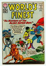 JERRY WEIST ESTATE: WORLD'S FINEST COMICS #124 (DC 1962) VG condition NR