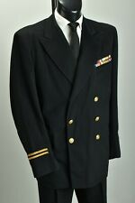 Merchant Navy Officers' 1950s' Uniform Jacket w/ WW2 Medal Ribbons. ZVQ