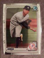2020 Bowman Chrome Deivi Garcia New York Yankees Prospect Base Card #BCP-214 💎