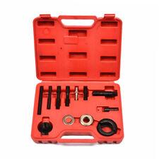 12pcs Power Steering Pump Remover Alternator AC Pulley Puller Installer Tool Kit