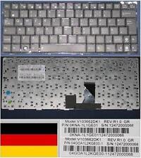 CLAVIER QWERTZ ALLEMAND ASUS EeePc EPC 1005PEB, V103662DK1 0KNA-1L1GE01 Noir