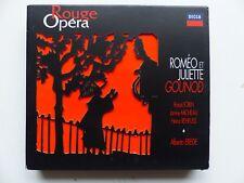 BOX CD Rouge Opéra DECCA GOUNOD Romeo et Juliette ERECLE 855844