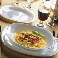 Bormioli Rocco Servizio piatti 18pz Parma Bianco Piano fondo dessert porcellana
