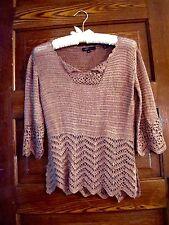 Crochet Top Brown