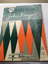 1962 The mph Band Method book 2 for Clarinet