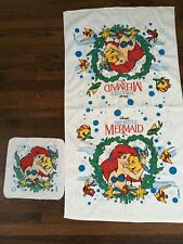 New Little Mermaid towel and wash cloth set